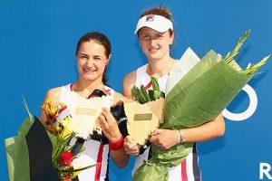 Monica Niculescu and Irina-Camelia Begu