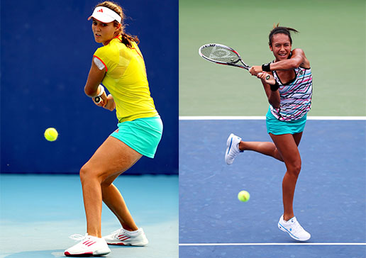 Laura Robson and Heather Watson are coming to Hobart