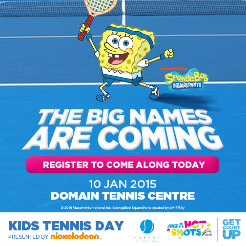 Kids Tennis Day presented by Nickelodeon