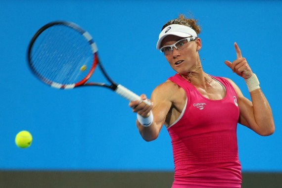 Sam Stosur headlines day two action at the Hobart International