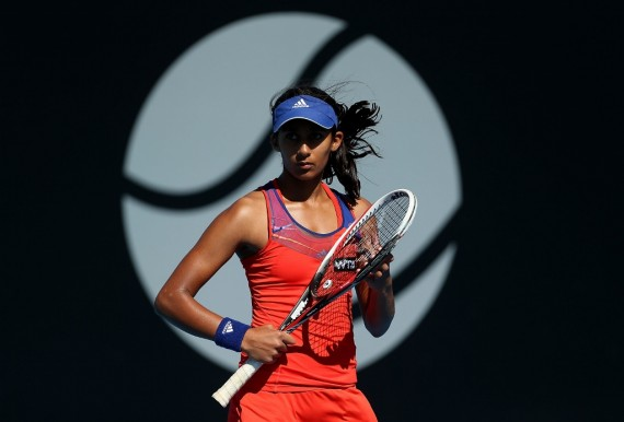 READY TO GO: Australian Naiktha Bains opens qualifying today. Picture: Getty Images