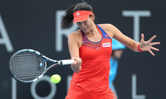 Garbine Muguruza is into the 2014 Hobart International final. Picture: Getty Images