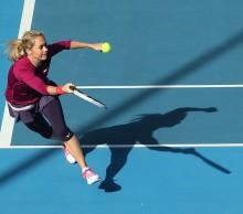 Klara Zakopalova is into the 2014 Hobart International quarter-finals. Picture: Getty Images