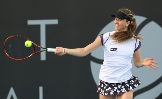 Mona Barthel, the 2012 champion, is returning in 2016. Picture: Getty Images