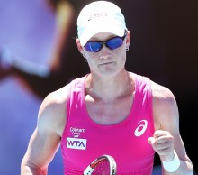 Can Australia's Samantha Stosur continue her winning run in the semi-finals today? Picture: Getty Images