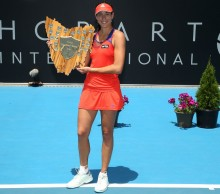 Garbine Muguruza is the 2014 Hobart International champion. Picture: Getty Images