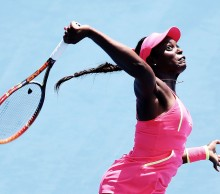 Sloane Stephens is playing at the Hobart International for a third time. Picture: Getty Images