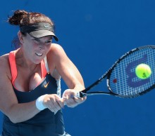 Madison Brengle will face former champion Mona Barthel in the first round in Hobart. Picture: Getty Images