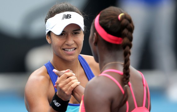 Heather Watson won nine of the last 10 games against Stephens. Picture Getty Images