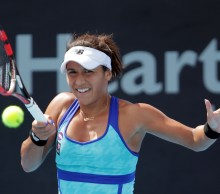 Heather Watson has impressed in her three Hobart INernational 2015 matches en route to the semis. Picture: Getty Images