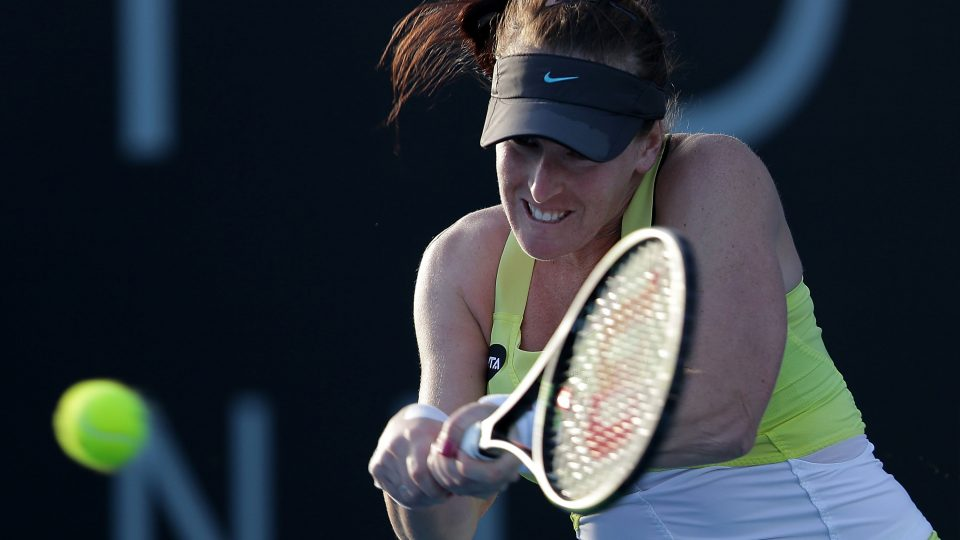 MAdison Brengle has come through qualifying to reach her first WTA final. Picture: Getty Images
