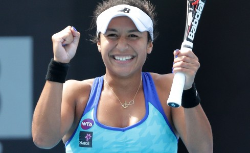Heather Watson won her second WTA title with a straight-sets win over Madison Brengle. Picture: Getty Images