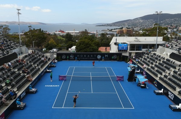 SEMIFINAL DAY: Thrilling matches scheduled at the Domain Tennis Centre for day six. Picture: Getty Images