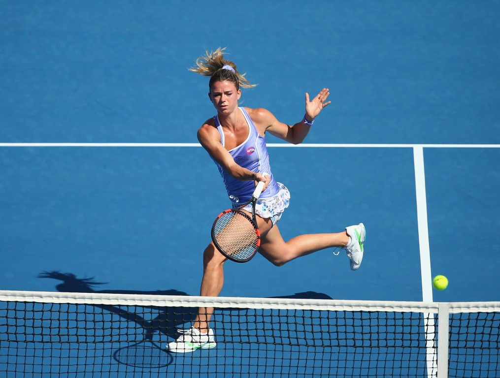 Second Seed Camila Giorgi Survives Challenge On Day One