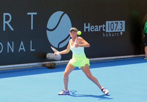 Australian wildcard Zoe Hives was a winner in round one of qualifying. Picture: Kaytie Olsen