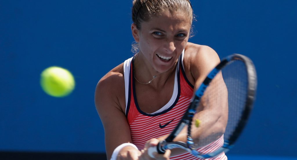 Italian Sara Errani is back in Hobart for the first time since 2012; Getty Images