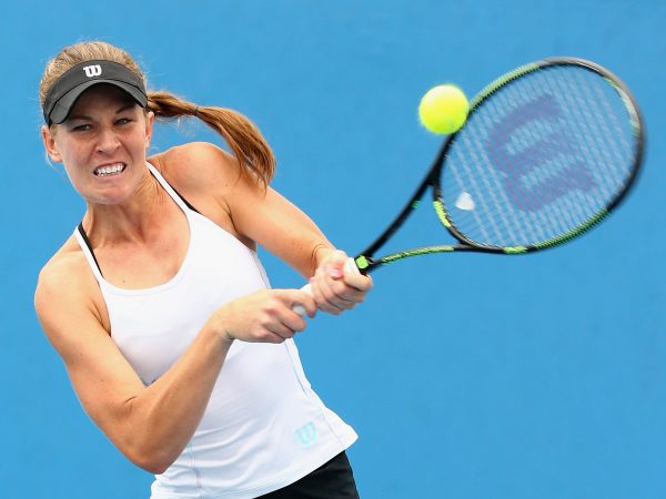 BIG WIN: Australian Olivia Rogowska is into the second round of qualifying; Getty Images