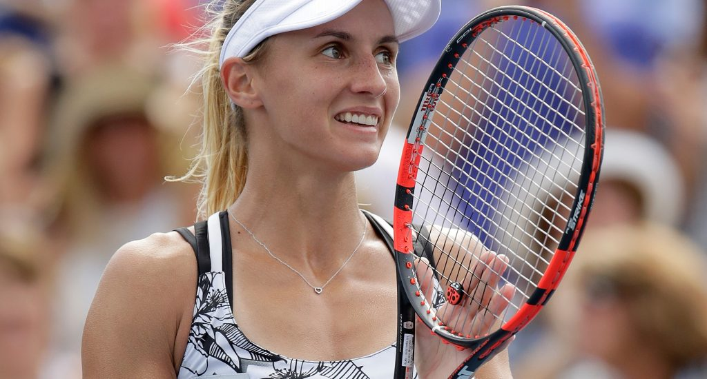 EYEING A RISE: Lesia Tsurenko is targeting a top 20 breakthrough in 2017; Getty Images