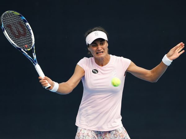 SLICE AND DICE: Third seed Monica Niculescu has eliminated Jelena Jankovic in the first round; Getty Images