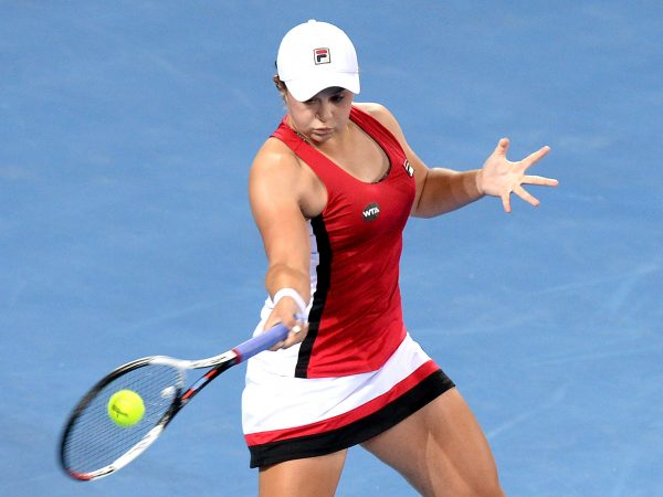 BARTY IS BACK: After a strong showing in Brisbane, Ashleigh Barty has earnt a Hobart qualifying wildcard; Getty Images