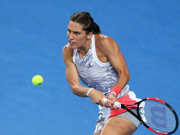 PERFECT START: Andrea Petkovic wins in Hobart International debut; Getty Images