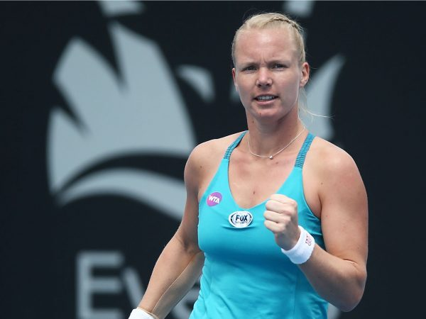 IN FORM: Top seed Kiki Bertens showed her class in a second round win over Galina Voskoboeva; Getty Images