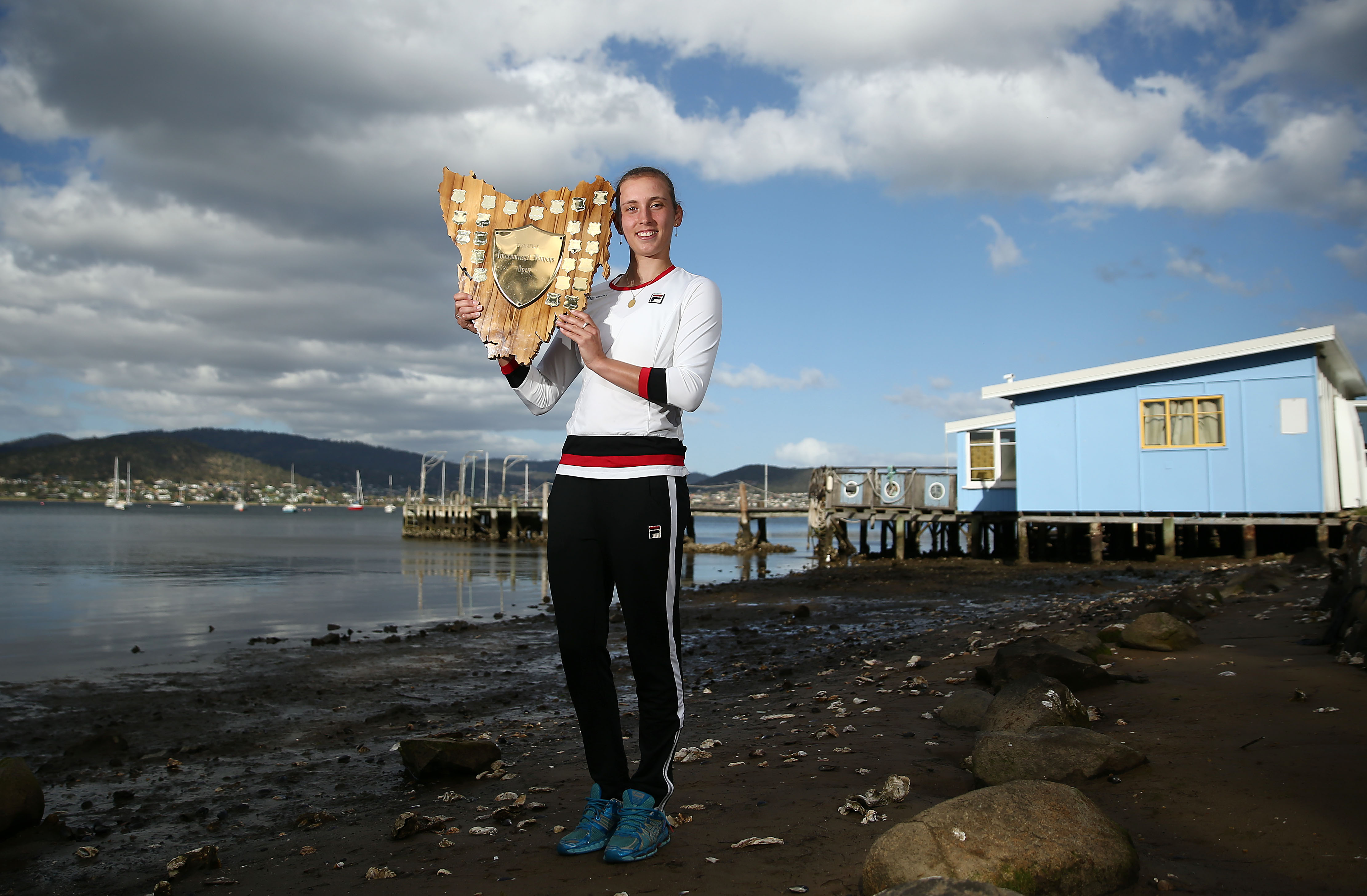 BREAKTHROUGH: Hobart will always hold a special place in Elise Mertens' heart - the city where she won her first WTA title; Getty Images