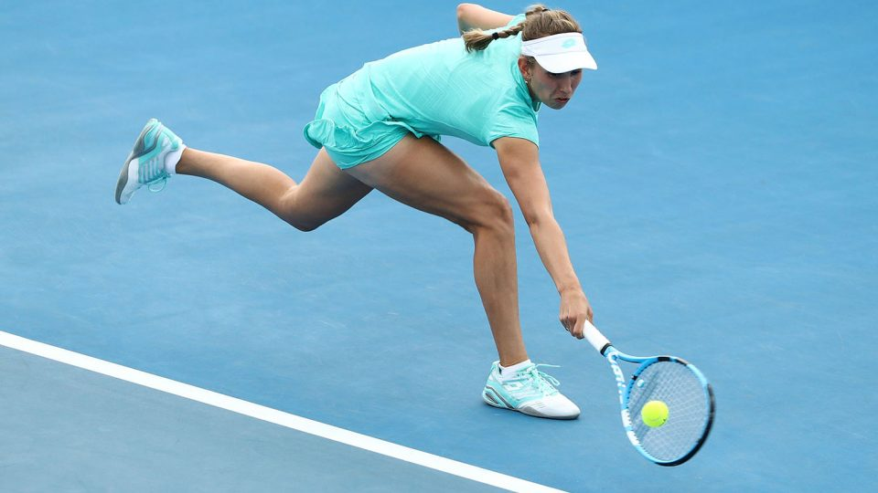 GOT IT COVERED: Elise Mertens has been in impressive form all week; Getty Images