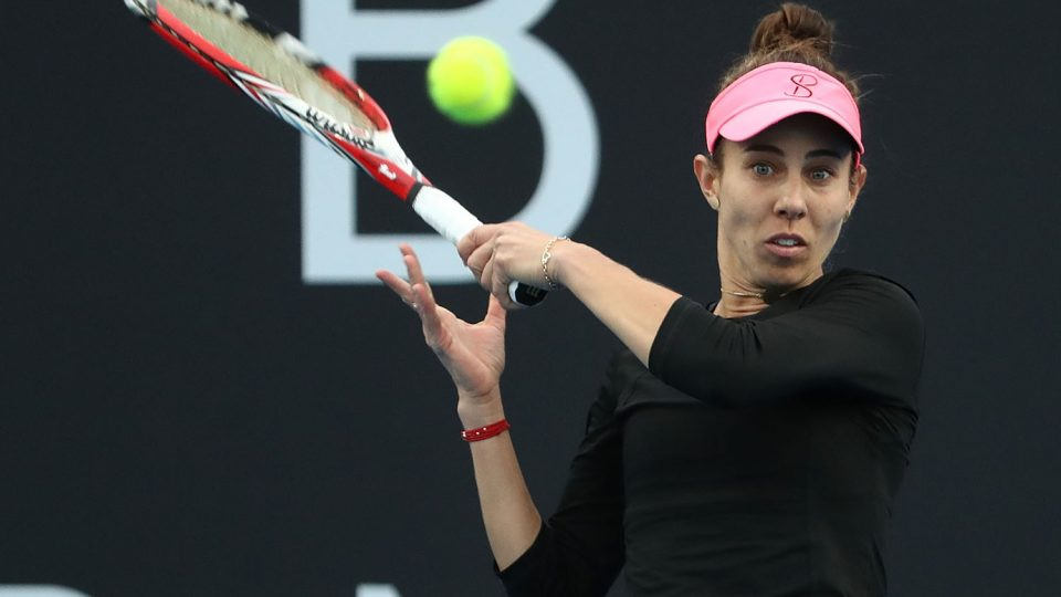 FINAL BREAKTHROUGH: Romanian Mihaela Buzarnescu is into her first WTA final; Getty Images