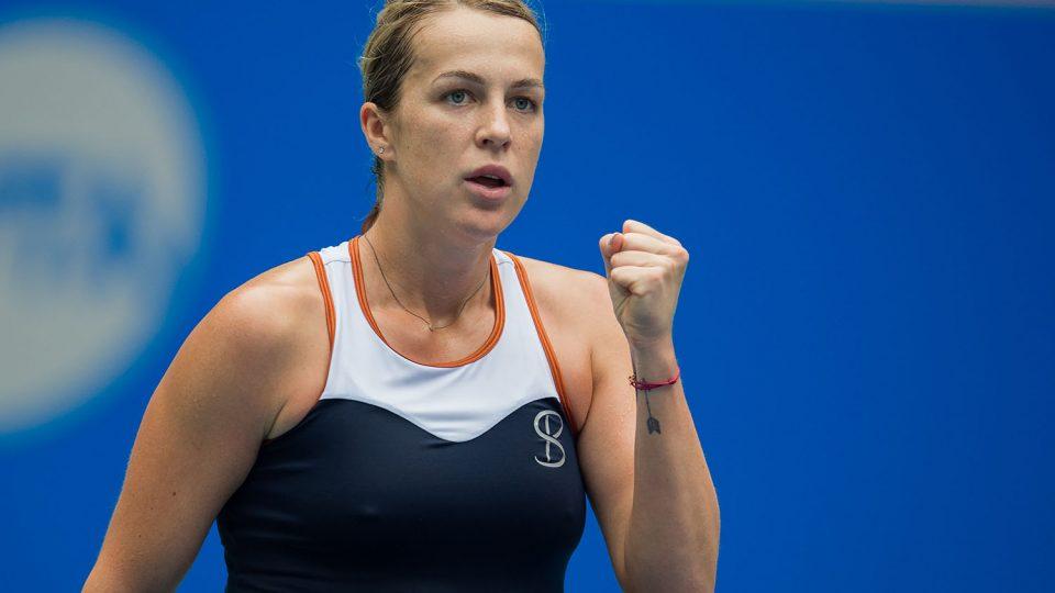 HOBART BOUND: Four-time Grand Slam quarterfinalist Anastasia Pavlyuchenkova will compete in Hobart in 2019; Getty Images