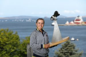 SPOILS: Sofia Kenin won the singles title in her first visit to Hobart; Getty Images