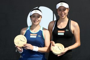 CHAMPIONS: Latisha Chan and Hao-Ching Chan won the 2019 doubles title; Getty Images